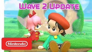Kirby Star Allies: Wave 2 Update - Adeleine & Ribbon - Nintendo Switch - Video Youtube