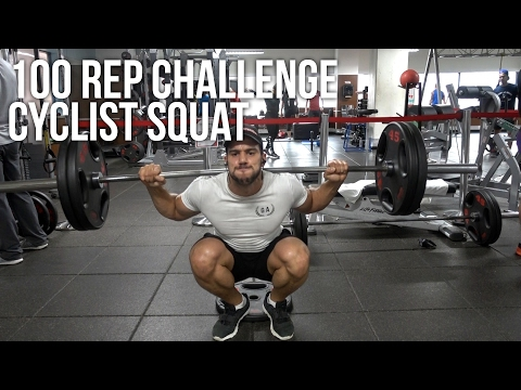 Get Big Quads: Cyclist Squat | 100 Rep Challenge 03