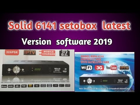 Solid 6141 update to HD BOX Nice Software 2018(NEW