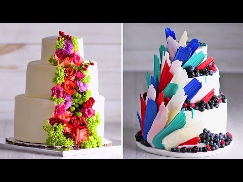 A wedding Cake that's fit for a PRINCESS | Cake Hacks | Homemade Royal Wedding Cake Ideas | So Yummy