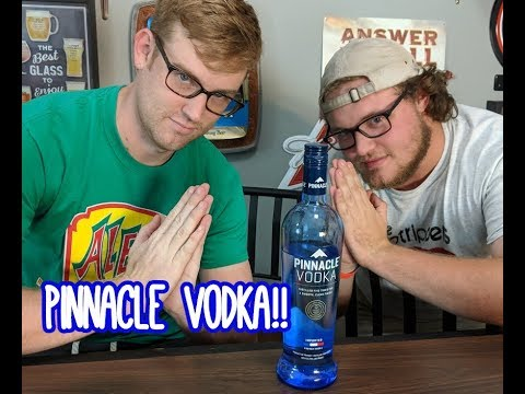 pinnacle vodka Review!
