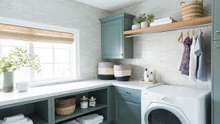A New Classic Laundry Room Tour