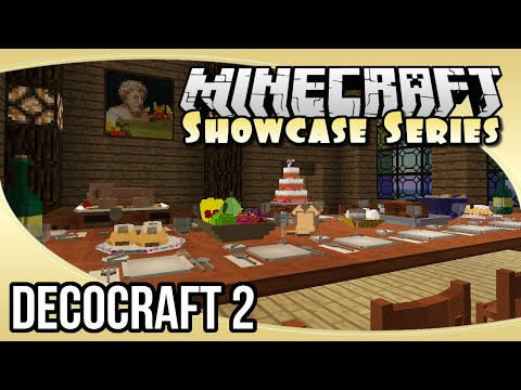 DecoCraft 2 (1.7.10 Decorative Items & Props Mod) | The Minecraft Showcase Series