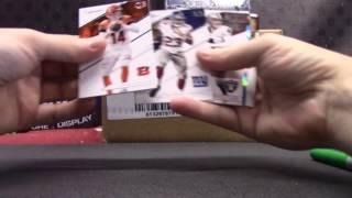 2016 Prime Signatures Football 24 Box Master Case GB