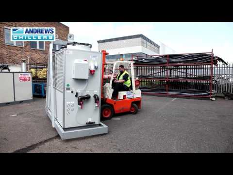 100kW low temperature heat pump unit