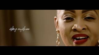 Ndanyuzwe By Aline Gahongayire  (Official Lyrics Video 2019)MTN CALLER TUNE CODE 152349