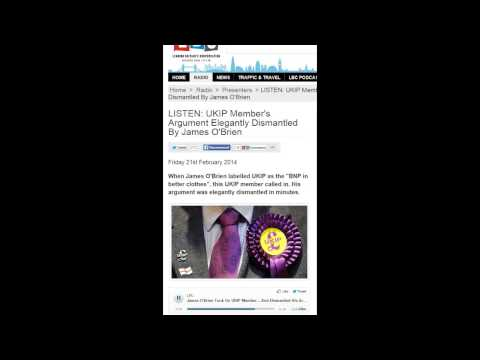 James O'Brien v UKIP supporters in 3 classic phone calls