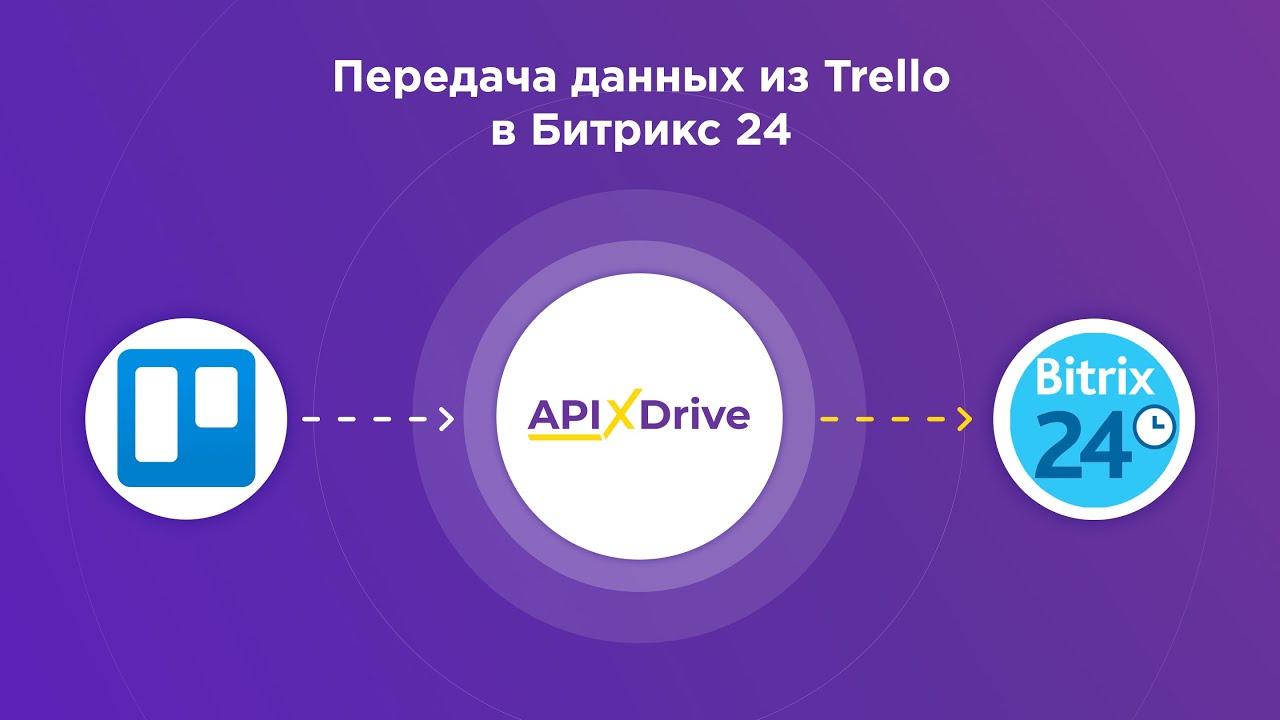 Как настроить выгрузку данных по задачам из Trello в виде сделок в Bitrix24?