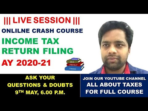 LIVE SESSION FOR ONLINE COURSE OF FILING OF INCOME TAX ...