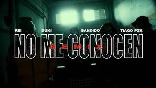 NO ME CONOCEN (REMIX) - BANDIDO, DUKI, REI, TIAGO PZK (OFFICIAL TRAILER)