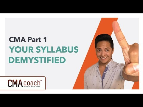 CMA Part 1 - YOUR SYLLABUS DEMYSTIFIED - YouTube