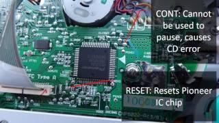 Modifying Fiat Stilo Car Radio - Adding AUX In