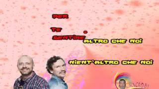 883 - Nient'altro Che Noi (karaoke - fair use)