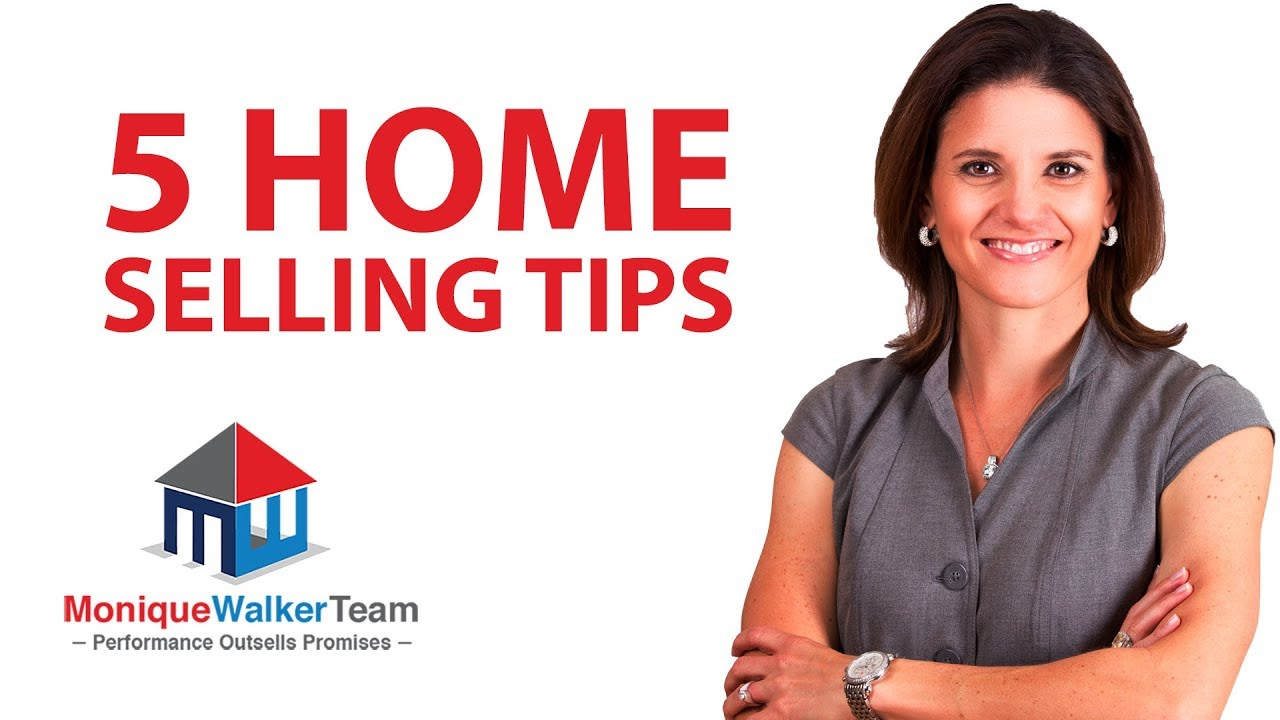 5 Top Home Selling Tips