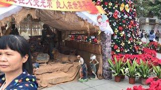 Рождественское кино семьи Васильевых - Жизнь в Китае #144