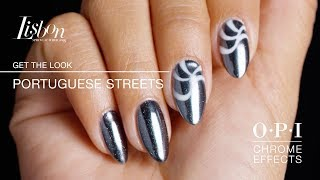 "GelColor Nail Art Tutorial: ""Portuguese Streets"" 
