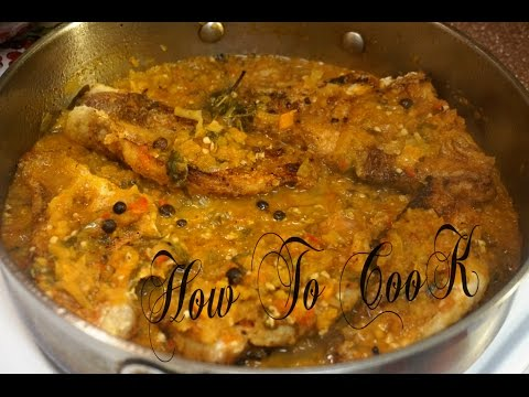 HOW TO MAKE  VEGETABLE STEW SNAPPER FISH RECIPE 2017