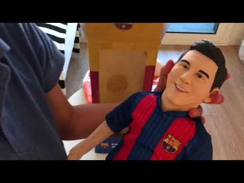 Muñecos oficiales del FC Barcelona