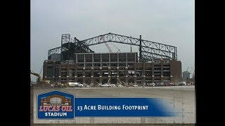 2008 - The Building of Lucas Oil Stadium in Indianapolis