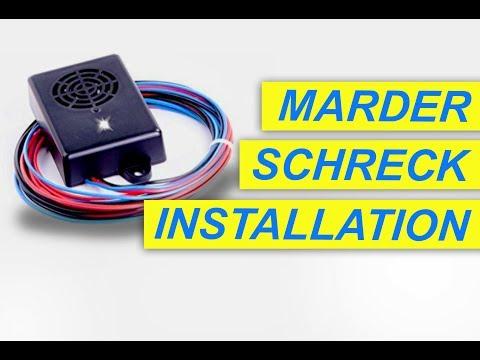 Installation Marder Abwehr Gerät - Mardersicher Ultra