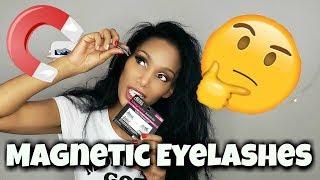 I Tried Magnetic Eyelashes - Hot or Not?