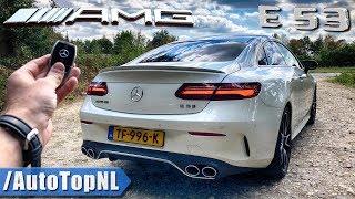 2019 Mercedes E53 AMG Coupe REVIEW POV Test Drive on Autobahn & Road by AutoTopNL | Kholo.pk