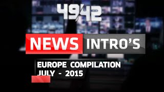 News Openings/Intro's (2) || Europe Compilation (JULY-2015) [NEW] [HD]