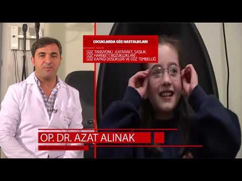 Çocuklarda Göz Hastalıkları Op Dr Azat ALINAK