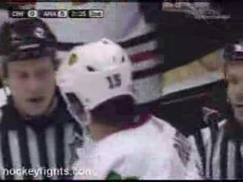 Chris Kunitz vs. Tuomo Ruutu
