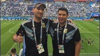 Аргентинские болельщики, по ошибке приехавшие в Великий Новгород, все же попали на матч своей команды
