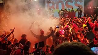 LFC Fans Sing Allez Allez Allez In Munich. BOSS NIGHT  JAMIE WEBSTER