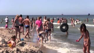preview picture of video 'Władysławowo plaża 2014'