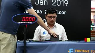 7.58 Official 3x3 Cube Winning Average! [Bangkok Open 2019]