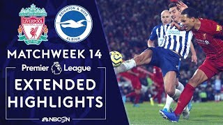 Liverpool v. Brighton | PREMIER LEAGUE HIGHLIGHTS | 11/30/19 | NBC Sports