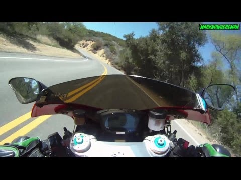 DUCATI Superbike Test Ride! Termignoni Exhaust - GoPro HERO 3 Black Series