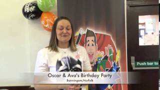 Oscar & Ava's birthday party