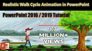 Easy Method Of Creating Animation Scene In PowerPoint 2016 Tutorial