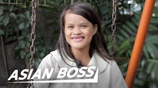 We Gave $1,000 To A Filipino Teen Mom To Return To School | ASIAN BOSS