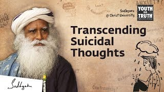 How To Overcome Suicidal Thoughts? – Sadhguru Answers