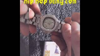 HIPHOP BLING BLIZZARD WATCH REVIEW!