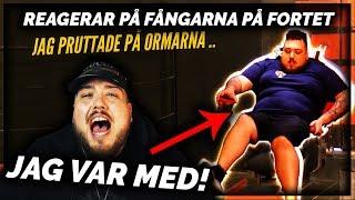 REAGERAR PÅ FÅNGARNA PÅ FORTET: JAG ÄR MED! **SKRATTFEST**