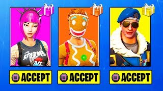 NEW GIFTING SYSTEM UPDATE! (FORTNITE SEND GIFTS)