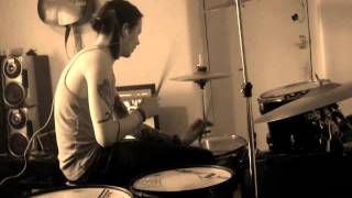 Feeder - Feel It Again Drum Cover