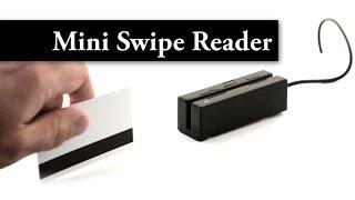 MagTek Mini Swipe Reader Video