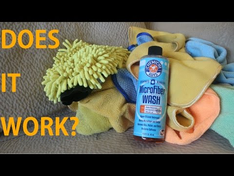 Chemical Guys Microfiber Wash (Review) – Better Than Laundry Detergent?
