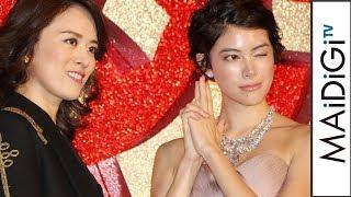 蘭寿とむ、かっこいい女性は「森星」映画「オーシャンズ8」のジャパンプレミア試写会イベント3
