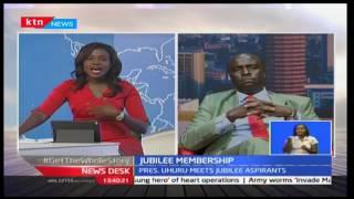 NewsDesk: President Uhuru meets Jubilee party aspirants