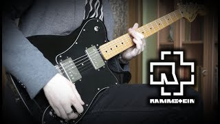 Rammstein   Radio (Guitar Cover + Backing Track)