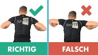 Liegestütze richtige Ausführung - Vermeide diese 3 Fehler!