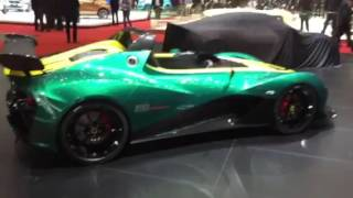 [Autocar] Lotus 3-Eleven - quick first view from the Geneva motor show